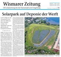 Wismarer Zeitung 2010